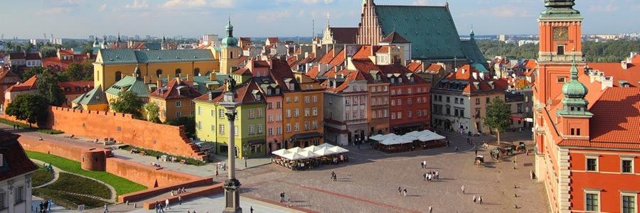 Se och göra i Warszawa