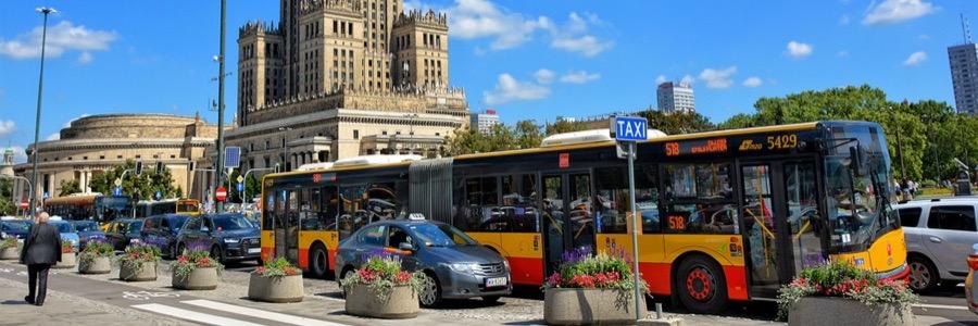 Ta sig runt i Warszawa